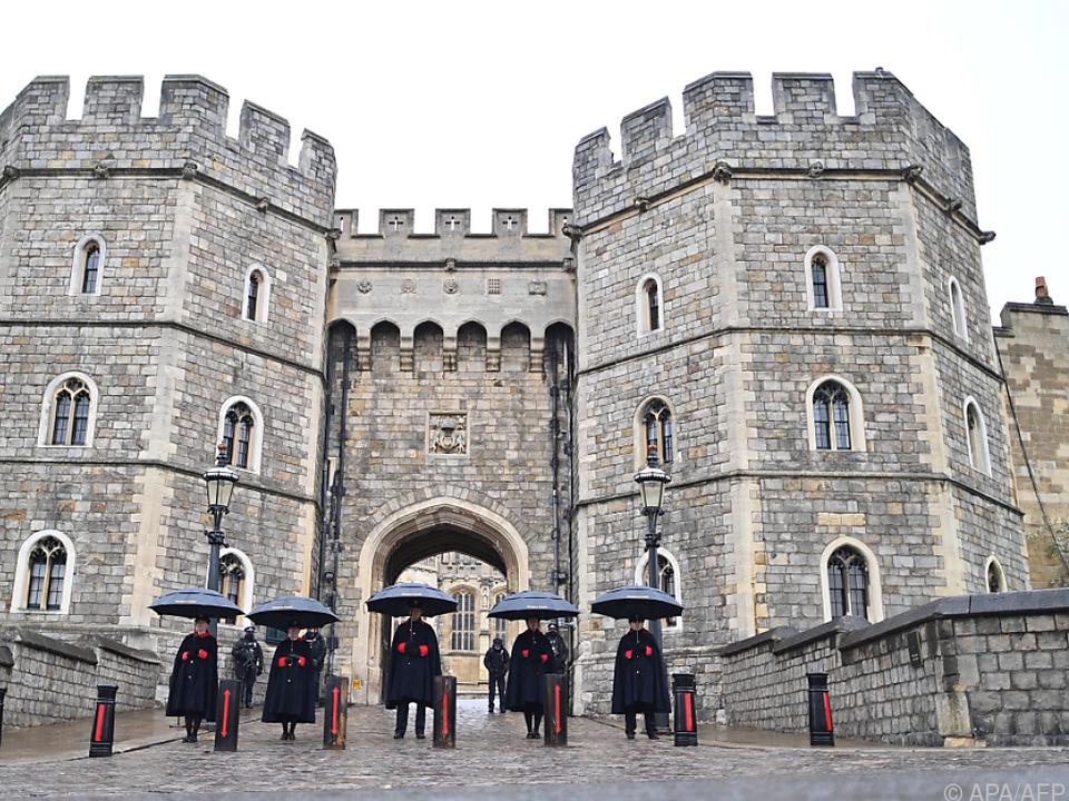Die Beisetzung von Prinz Philip erfolgt auf Schloss Windsor