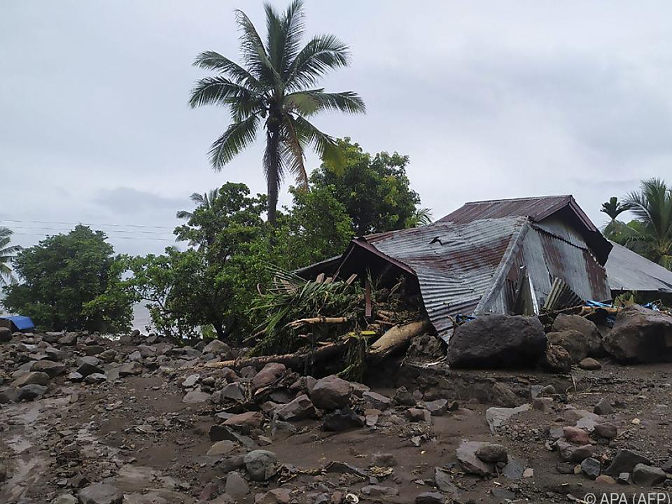 Die Insel Lembata ist besonders schwer betroffen