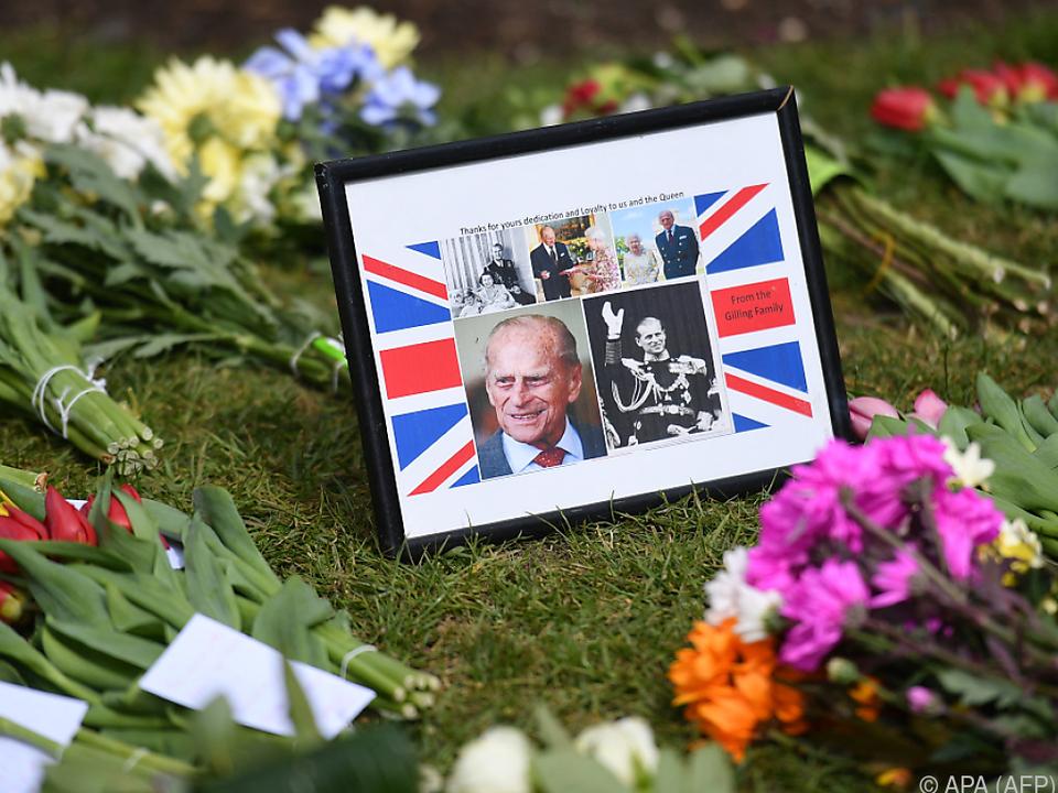 Die Trauer um Prinz Philip ist groß