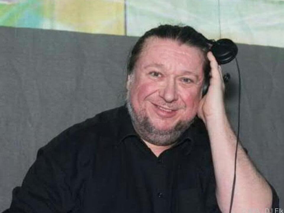 DJ Elk in besseren Zeiten: Manfred Elk Breiner legt im Iceberg auf