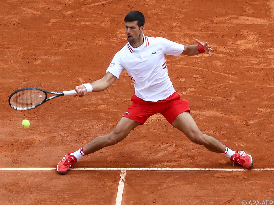 Djokovic in Monte Carlo gestrauchelt
