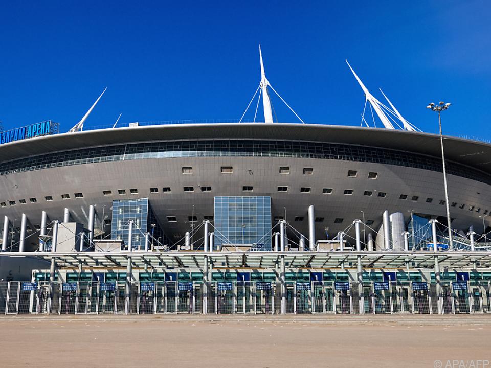 Drei zusätzliche EM-Spiele im Stadion von St. Petersburg