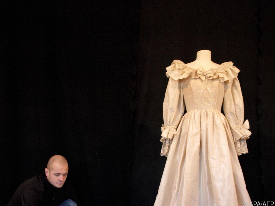 Ein Duplikat des Hochzeitskleids von Diana