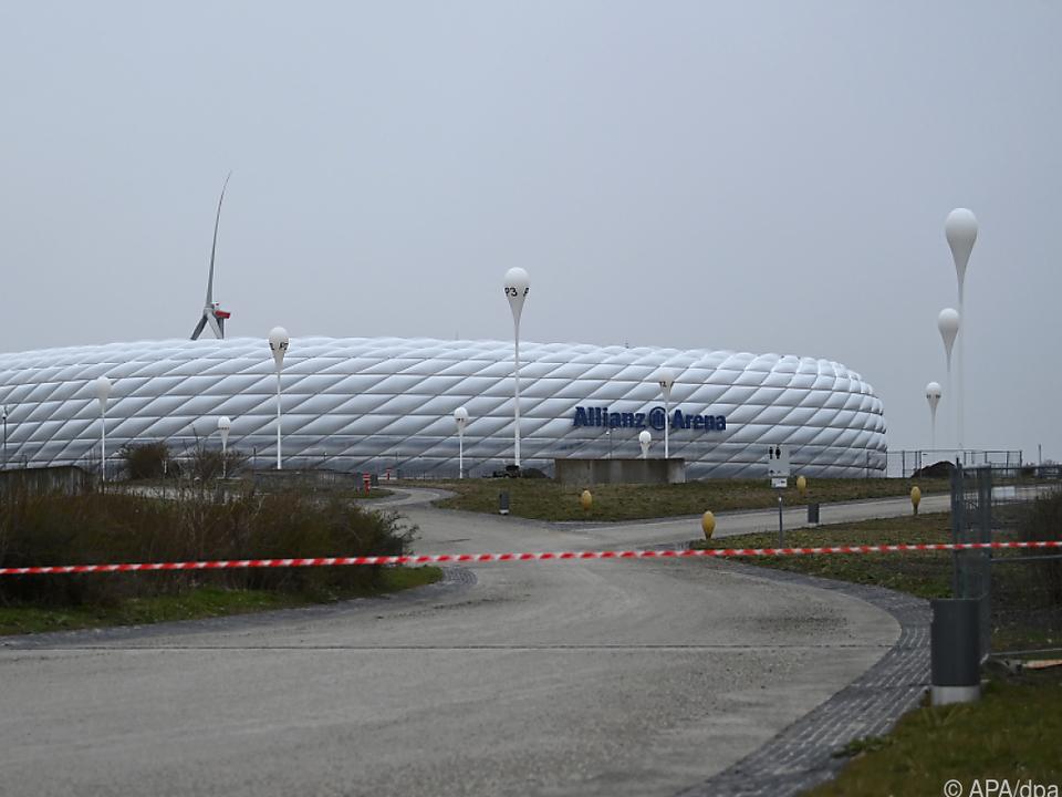 EM-Spiele in der Münchner Allianz Arena wackeln