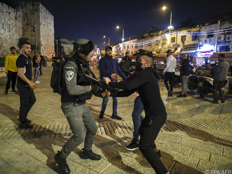 Erneut Zusammenstöße während des Ramadan