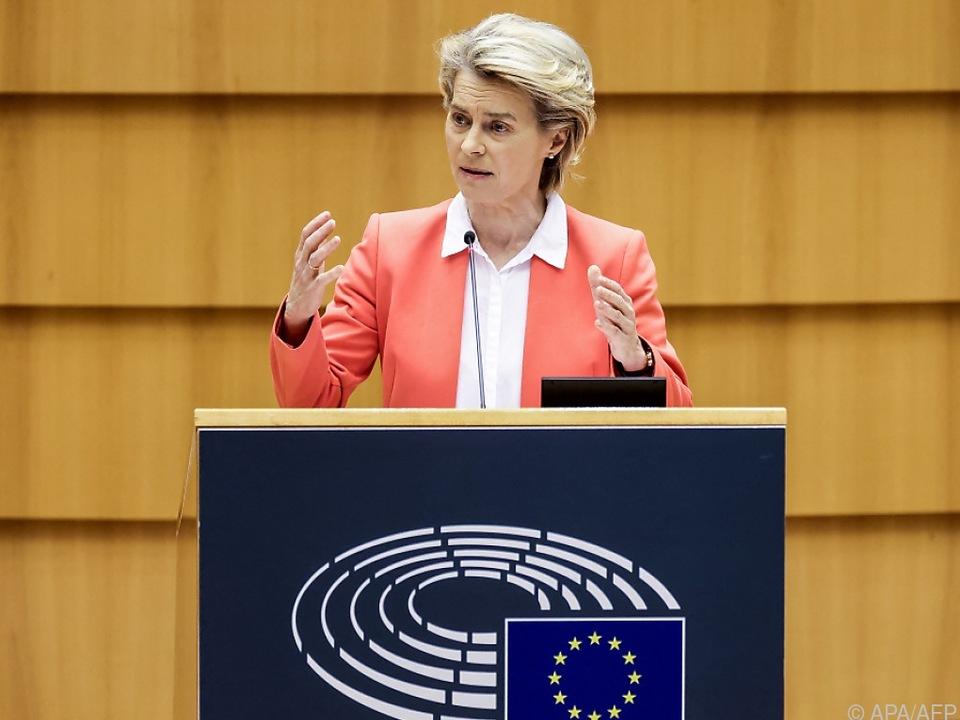 EU-Kommissionspräsidentin erhebt schwere Vorwürfe