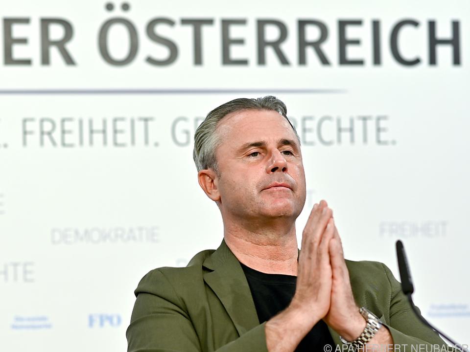 FPÖ-Chef Hofer erhielt Corona-Imfpung