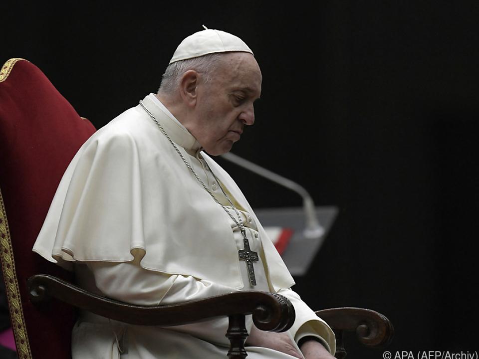 Franziskus erinnert an die Leiden Jesu