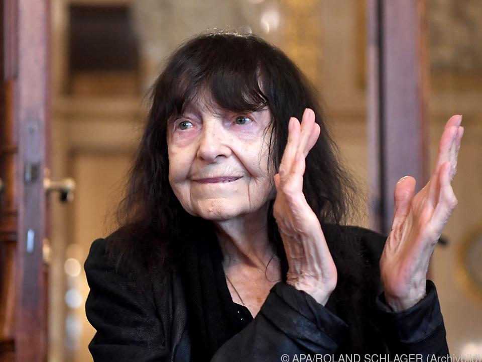 Friederike Mayröcker ist für den Leipziger Buchpreis nominiert
