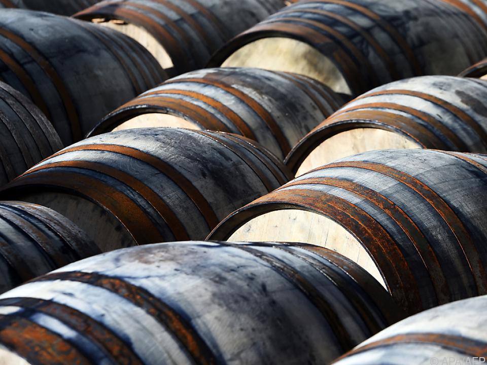 Für die Reichen wurde es teurer, ein Faß Whisky aufzumachen