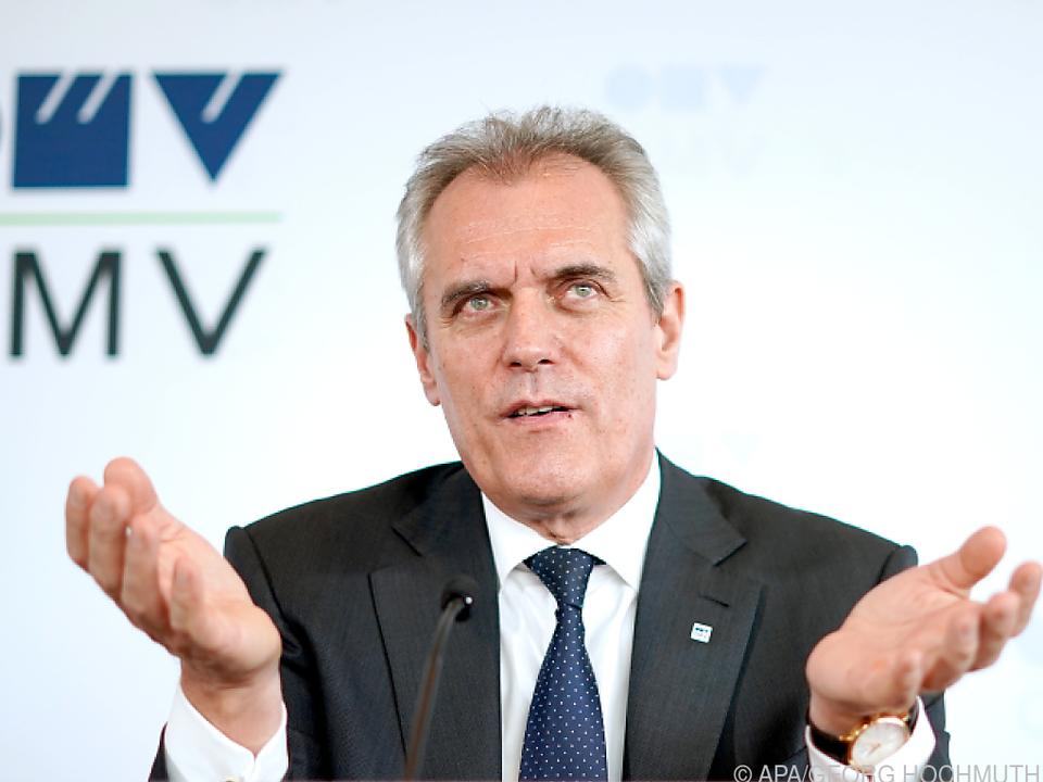 Greenpeace fordert: OMV-Chef Rainer Seele muss gehen