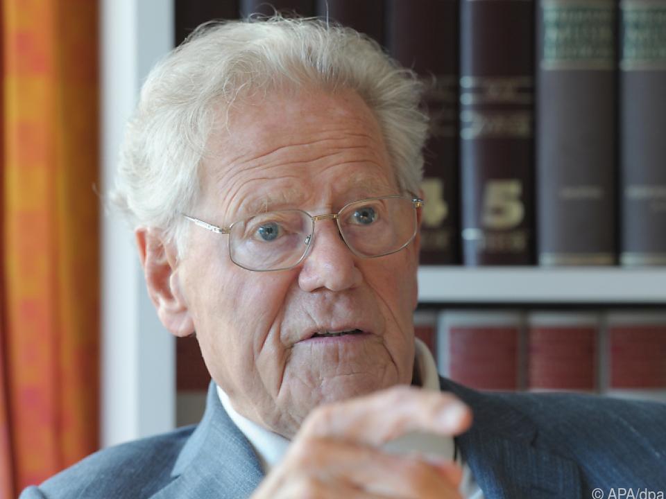 Hans Küng starb im Alter von 93 Jahren