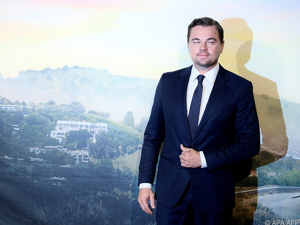 Hollywood-Star Leonardo DiCaprio