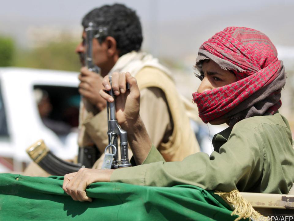 Houthi-Rebellen auf dem Vormarsch (Archivbild)