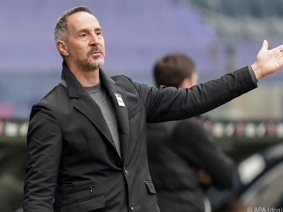 Hütter weist den Weg Richtung Champions League