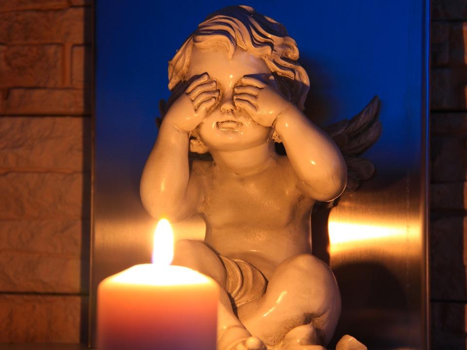 Kerze Engel