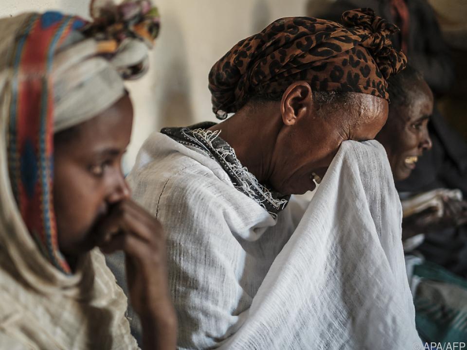 In der Provinz Tigray leiden viele Menschen