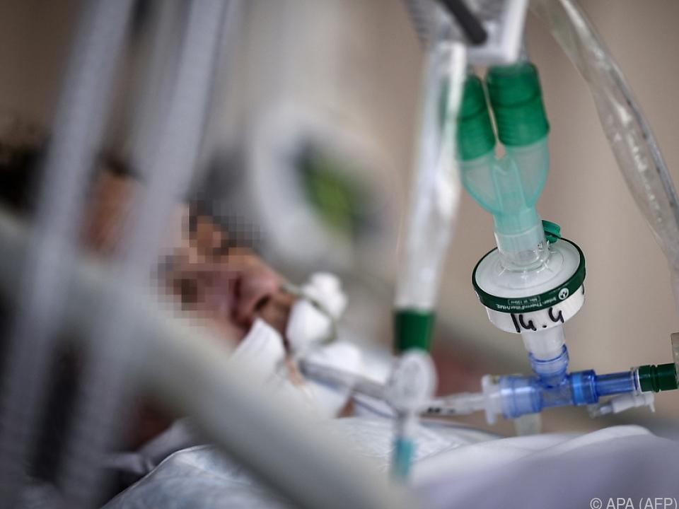 Intensivbetten-Belag in Wien deutlich gesunken