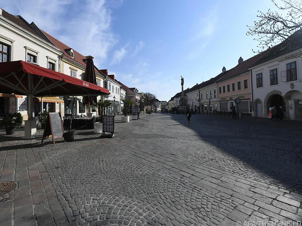 Inzidenz im Burgenland gesunken
