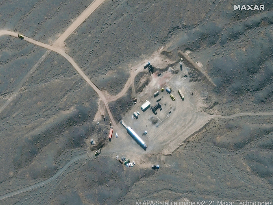 Iranische Atomanlage Natanz