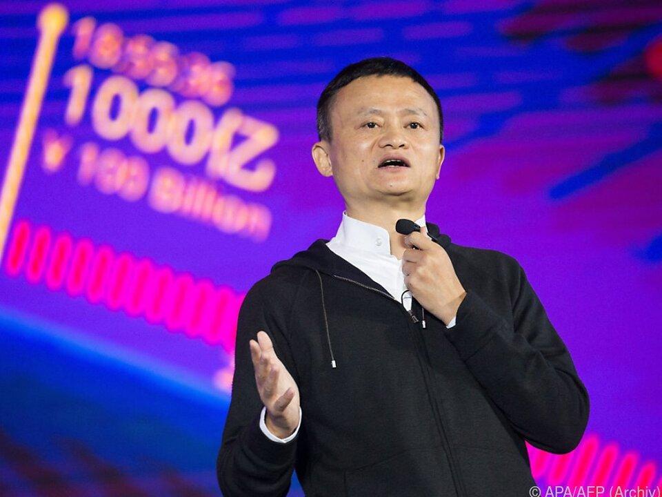 Jack Ma ist ins Visier der chinesischen Behörden geraten