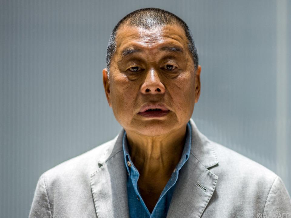 Jimmy Lai wurde in Hongkong verurteilt