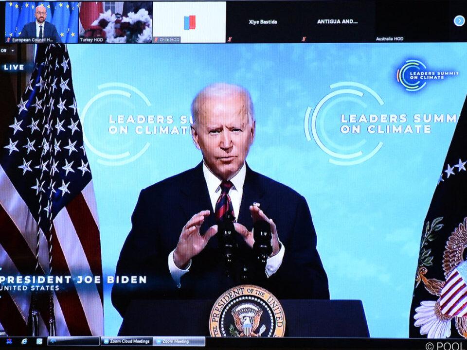 Joe Biden hat den Kampf gegen den Klimawandel zur Priorität erklärt