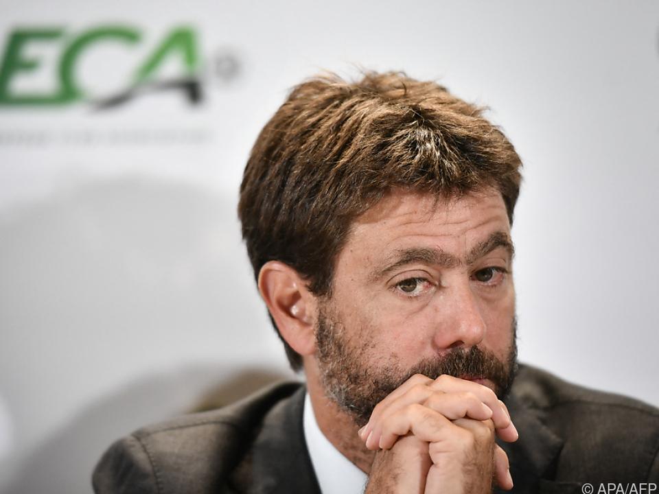 Juventus-Boss Agnelli sind die Verbündeten ausgegangen