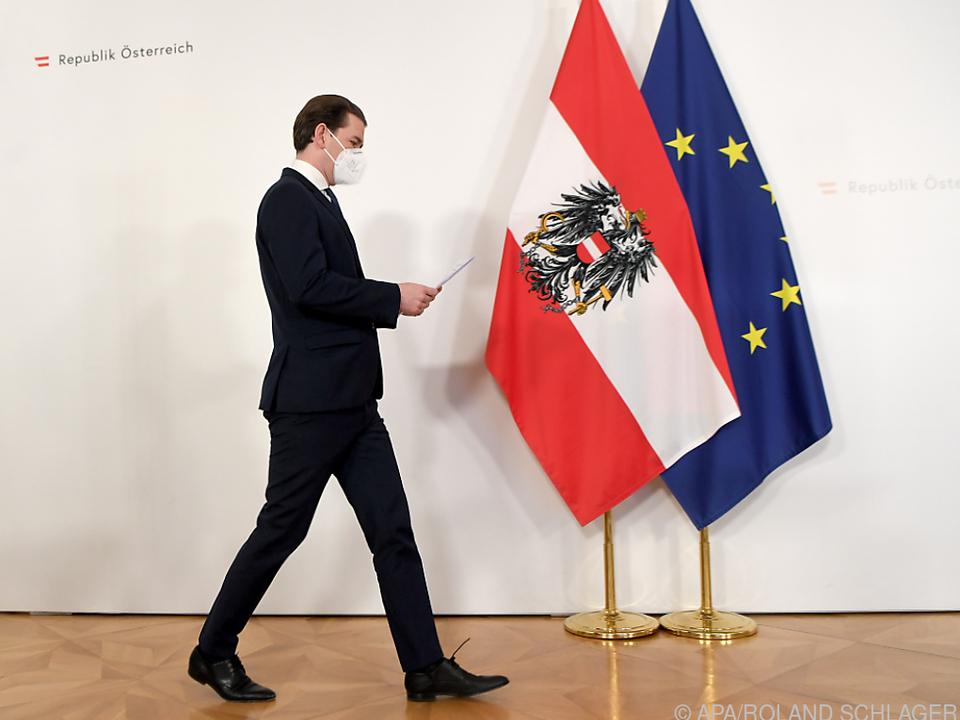 Kein Gang nach Brüssel für Bundeskanzler Kurz