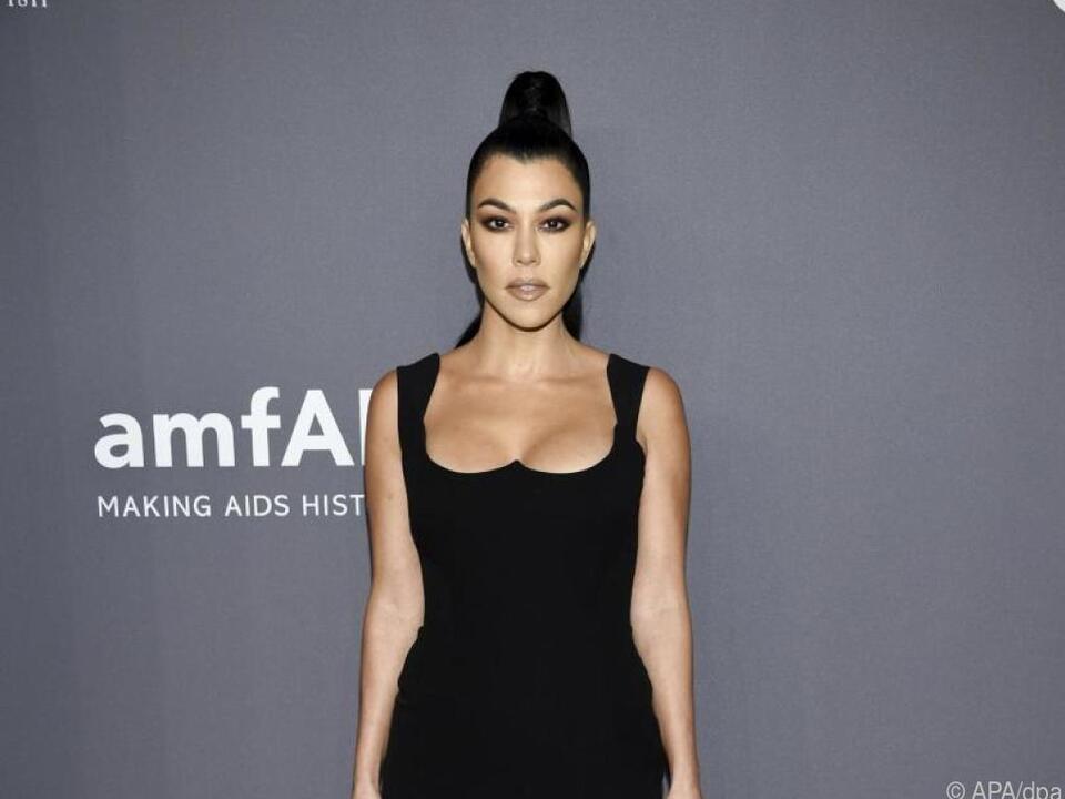 Kourtney Kardashian scheint ihr privates Glück gefunden zu haben