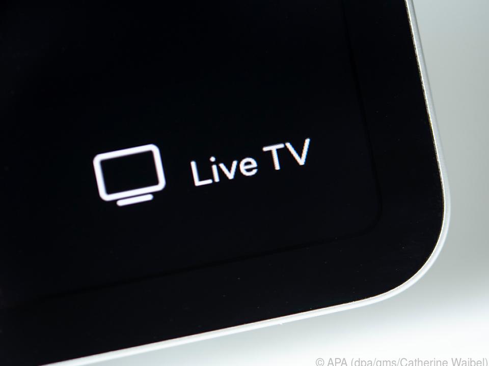 Live-TV kommt auch übers Internet ins Haus oder auf Mobilgeräte