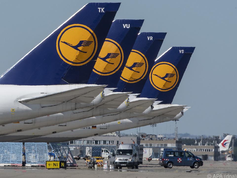 Lufthansa unter Druck