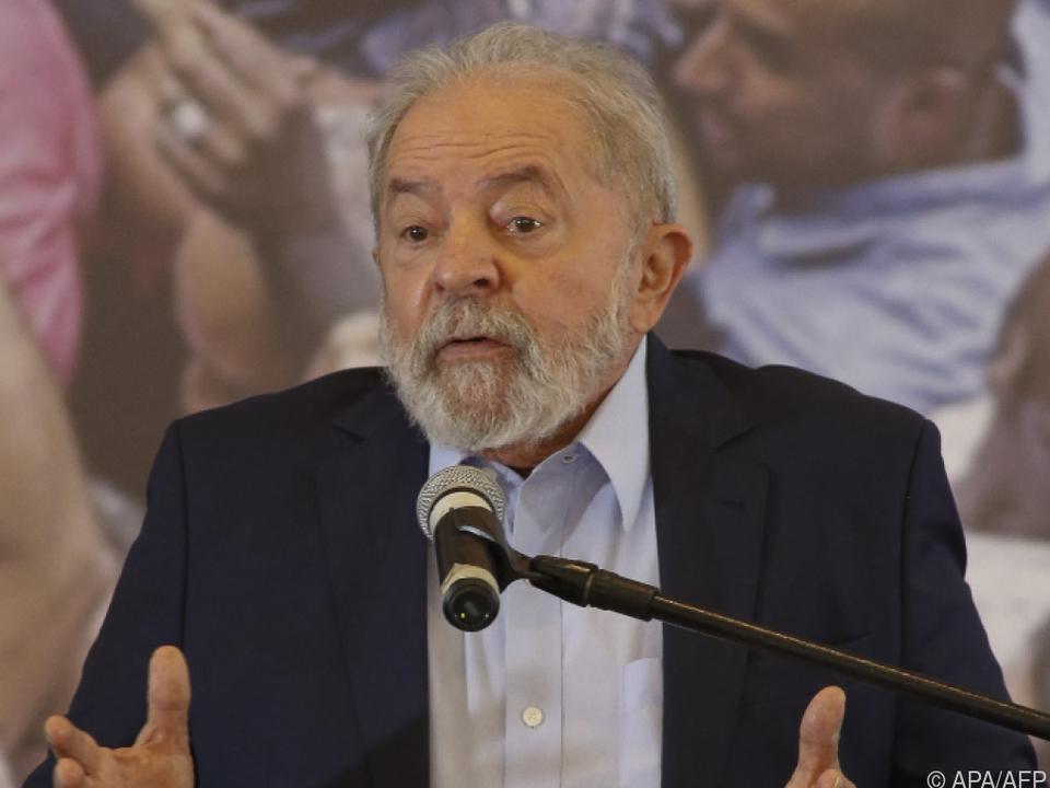 Lula könnte wieder als Präsident kandidieren