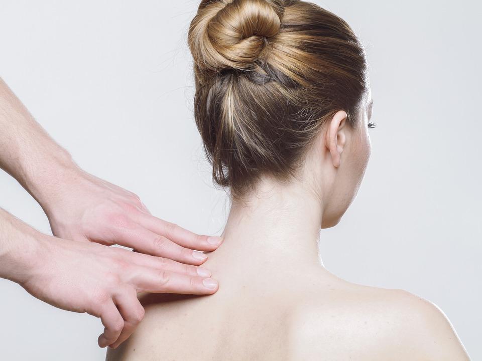 Rücken Frau Massage