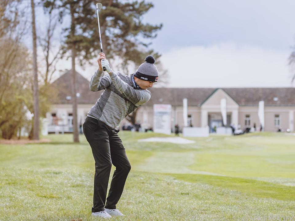 Matthias Schwab bei den Austrian Golf Open 2021