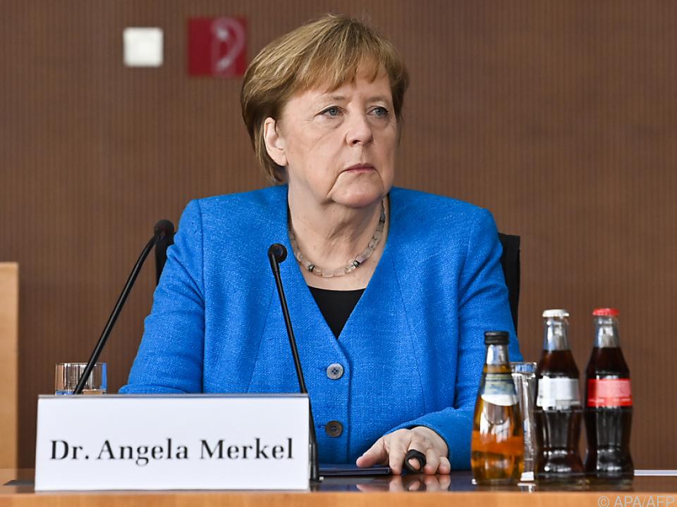 Merkel im Wirecard-U-Ausschuss