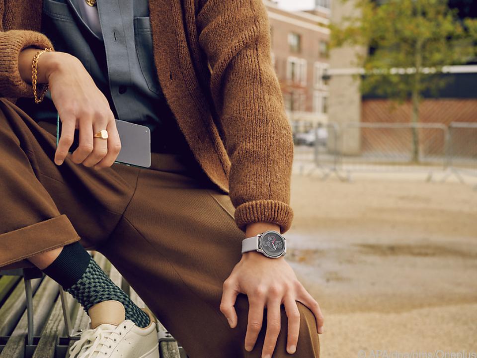 Elegant ist die Oneplus Watch und ausdauernd