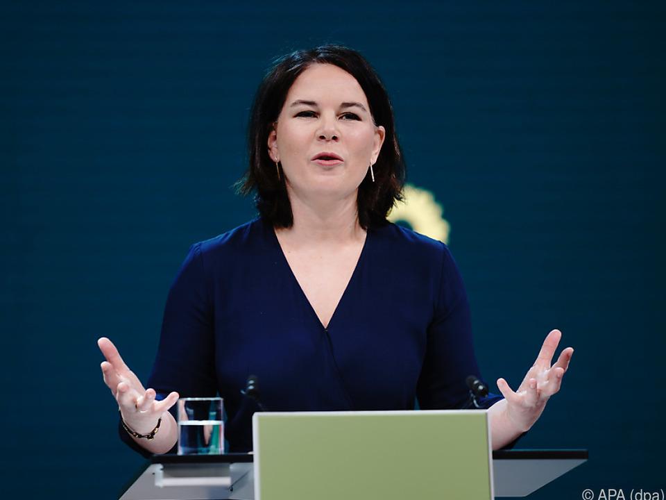 Mit Baerbock wollen die deutschen Grünen hoch hinaus