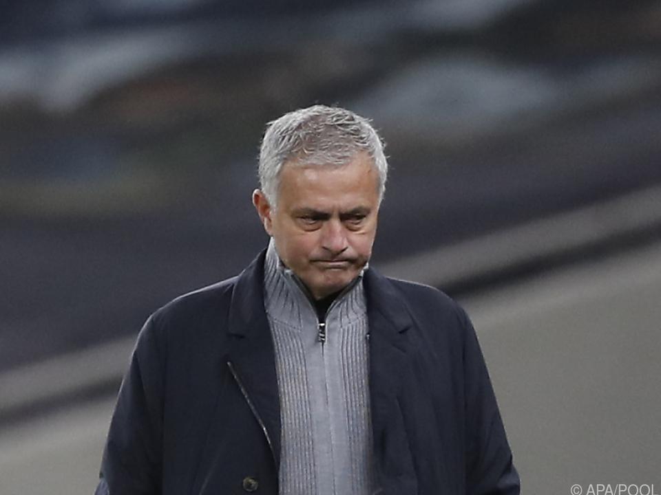 Mourinho ist nach nur eineinhalb Jahren bei den \