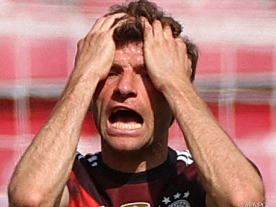 Müller verpasste mit Bayern vorzeitige Titelentscheidung
