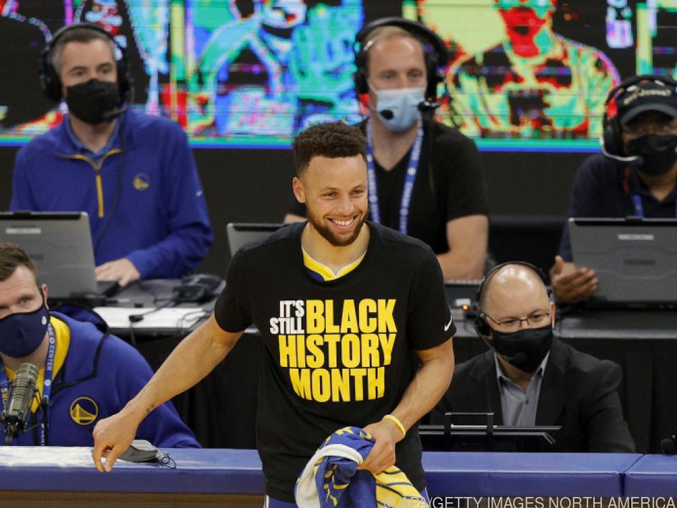 Nächster Dreier-Rekord für Steph Curry