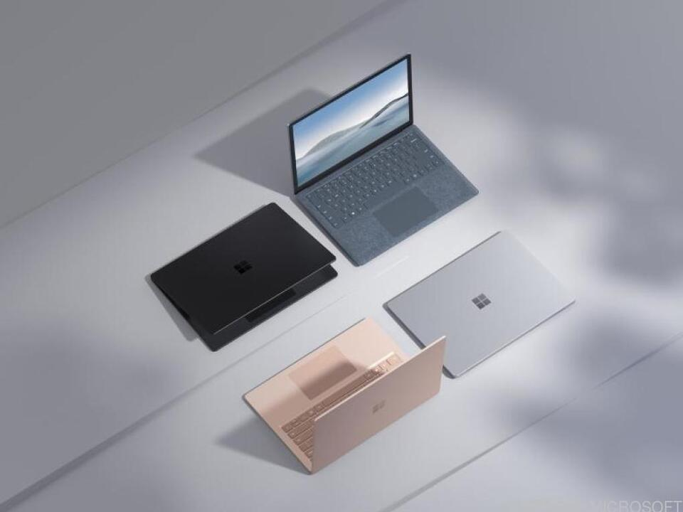 Neue Laptops von Microsoft