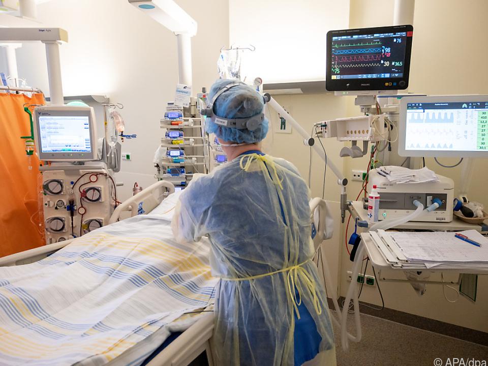 Neuer Höchststand an Intensivpatienten in der Bundeshauptstadt
