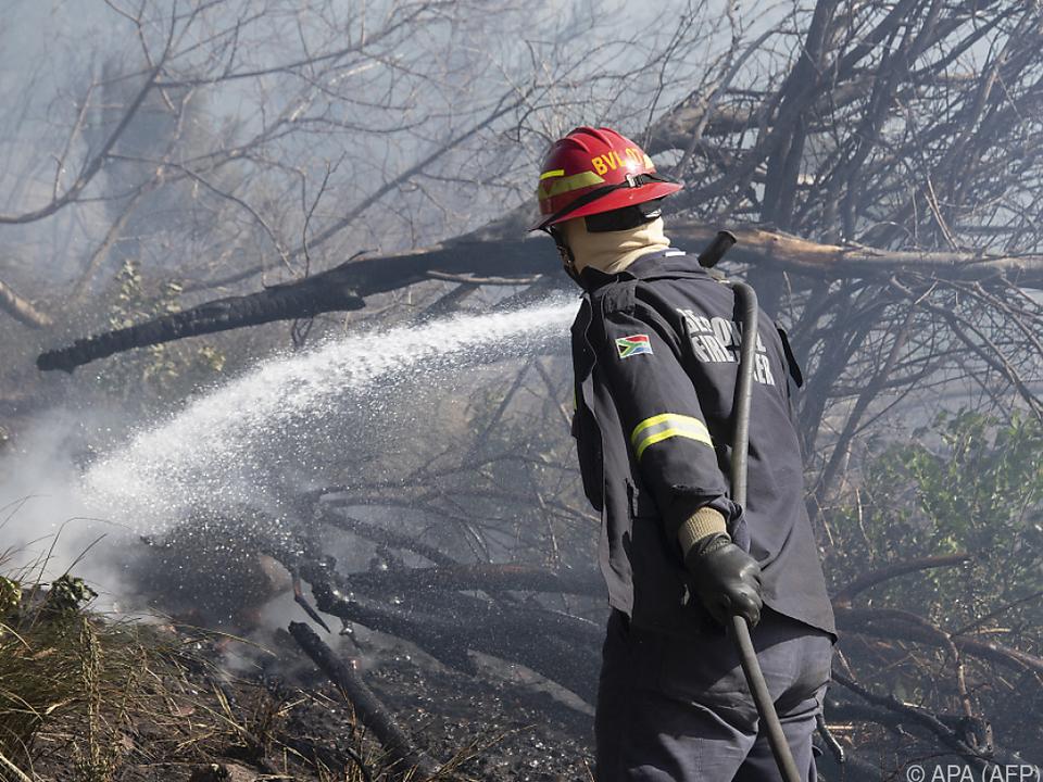 Noch immer wüten die Flammen in Kapstadt