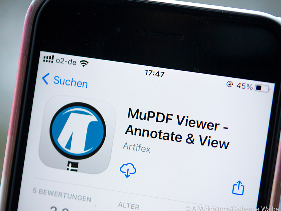 Ob iPhone oder Androide: Der MuPDF-Viewer ist in beiden Welten zu Hause
