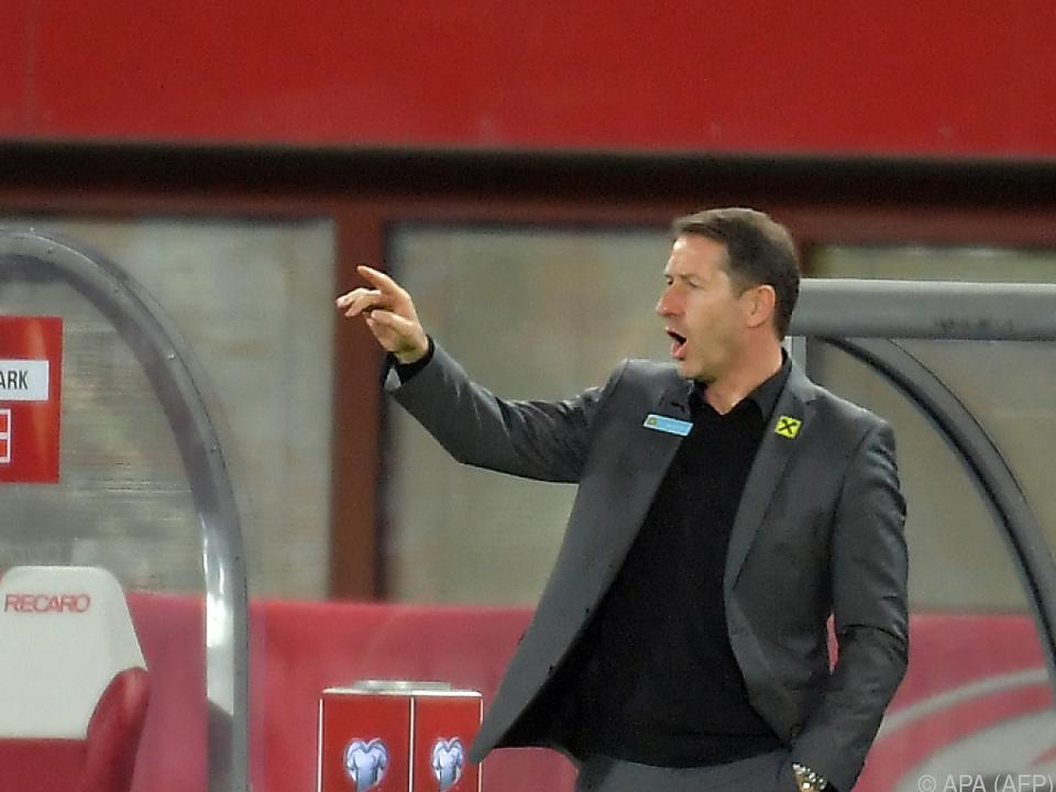 ÖFB-Teamchef Foda kam nach 0:4 gegen Dänemark ins Grübeln