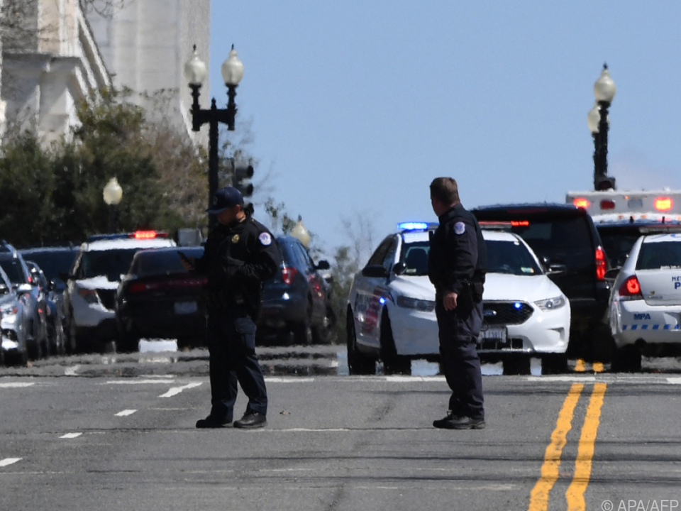 Polizei riegelt Umgebung von US-Kapitol ab