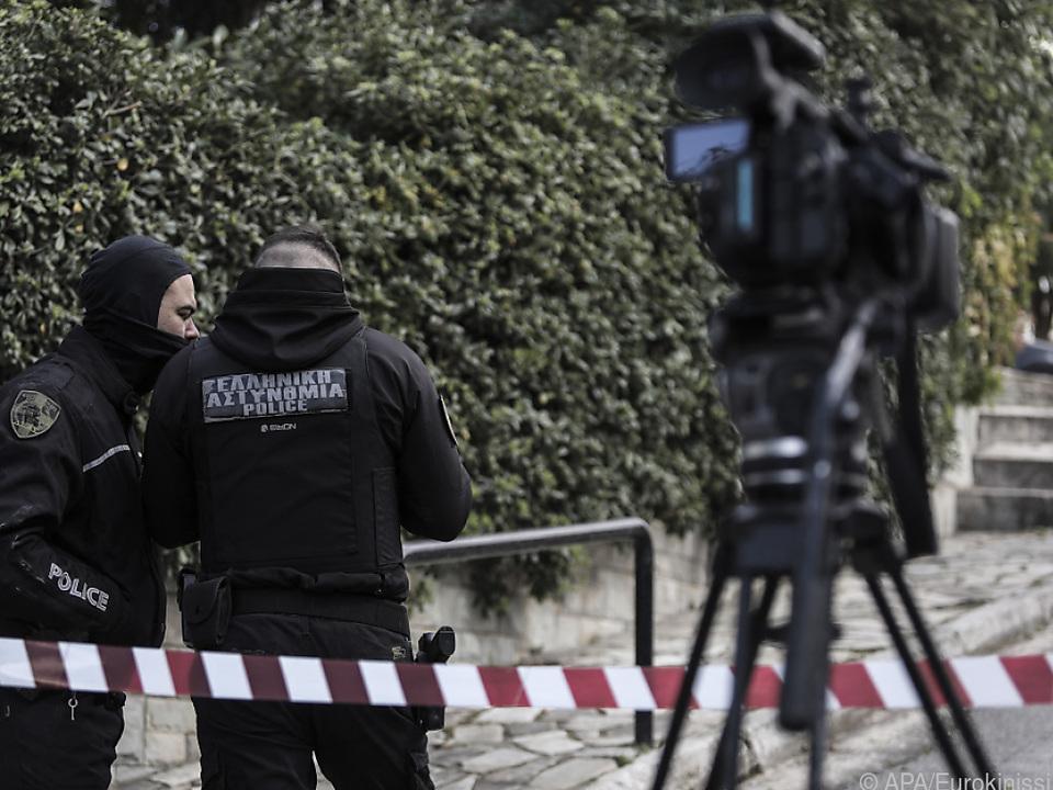 Polizeireporter Karaivaz vor seinem Haus getötet