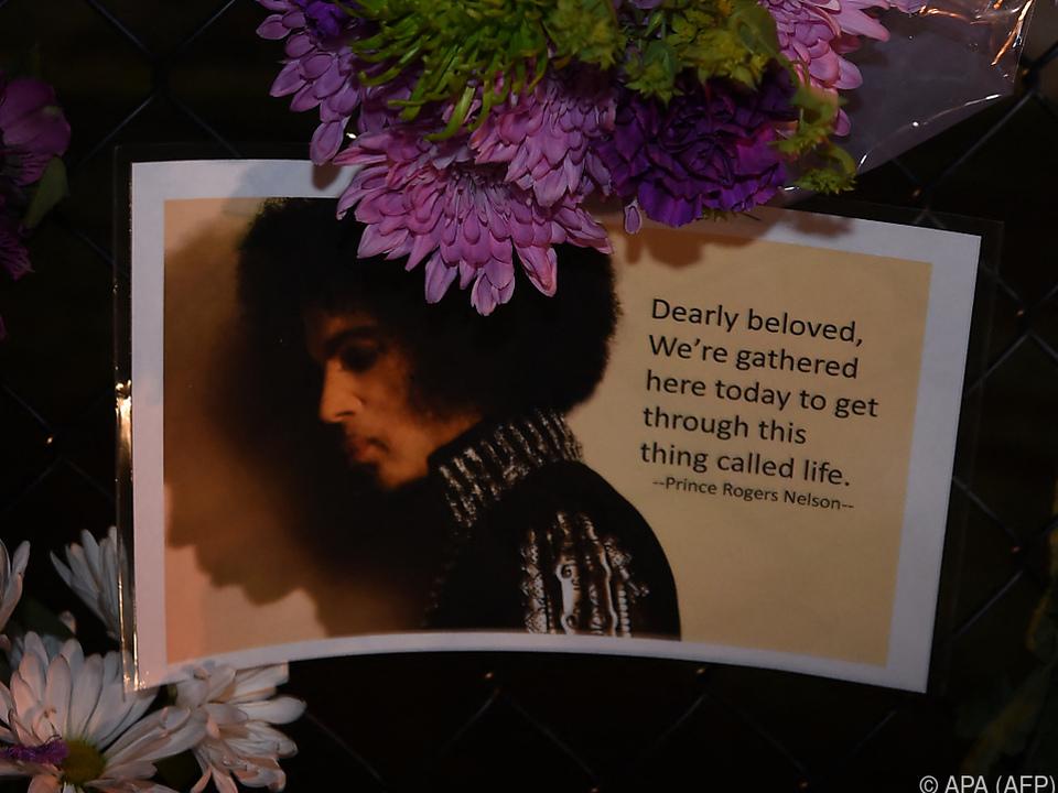 Prince starb im Alter von 57 Jahren