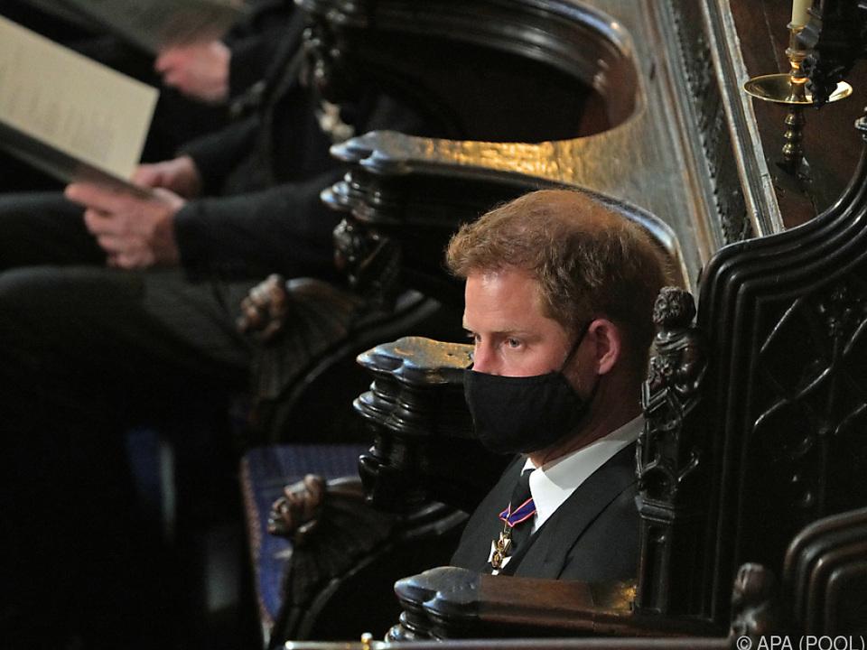 Prinz Harry ist zu seiner Ehefrau Meghan zurückgekehrt